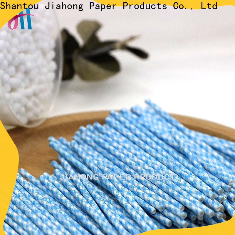 Jiahong sticks paper stick manufacturer for medical cotton swabs