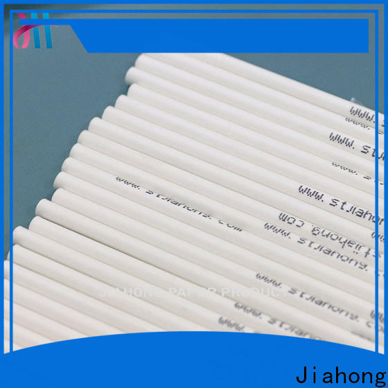 Jiahong hot-sale white lollipop sticks factory price for lollipop