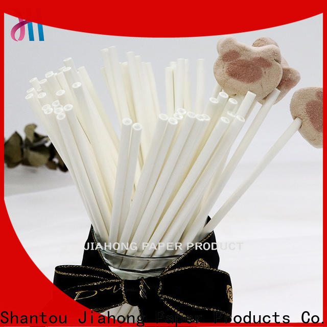 Jiahong white paper lolly sticks vendor for lollipop