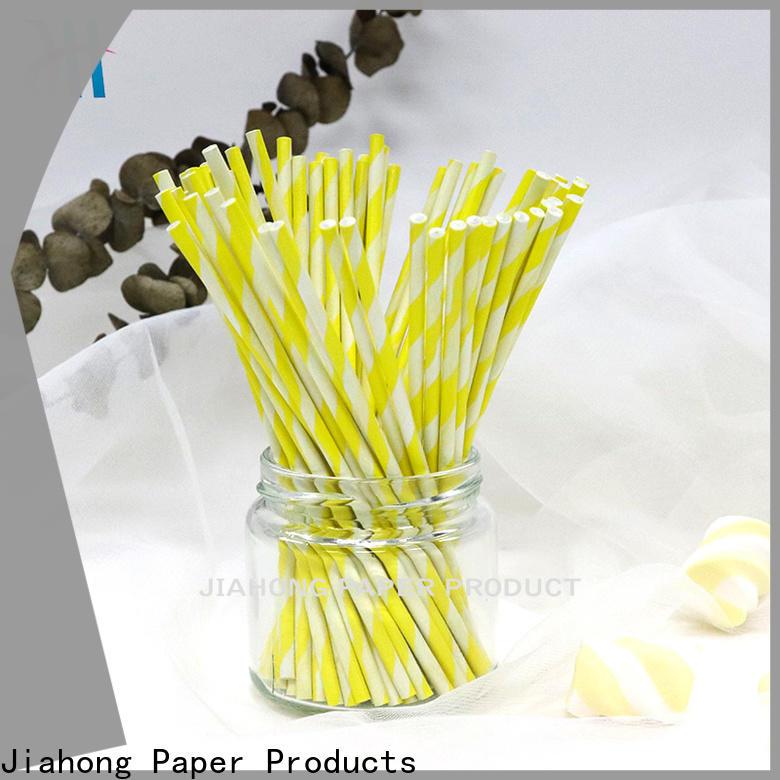 Jiahong fashion design stick lollipop vendor for lollipop
