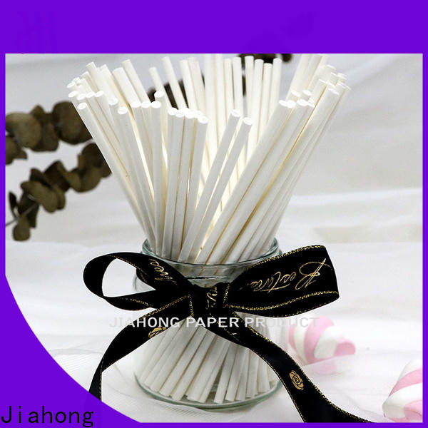 Jiahong color fsc certified paper sticks certification for electronic industrial cotton swabs