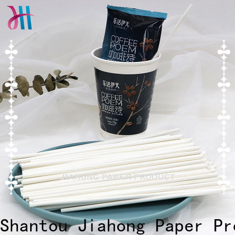 Jiahong grade drink stirrers bulk production for restaurant