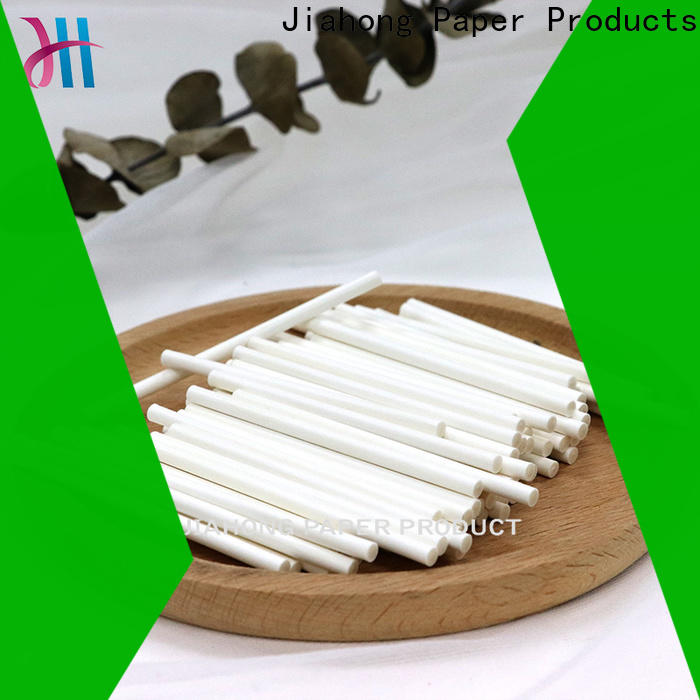 Jiahong smooth hand fan sticks from manufacturer for medical cotton swabs
