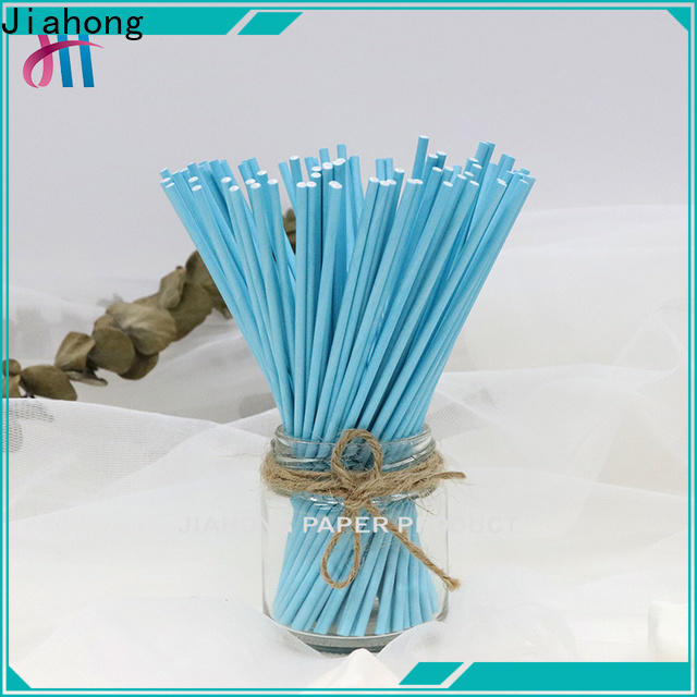 Jiahong clean lolly pop sticks markting for lollipop