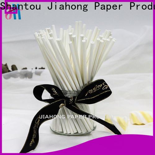 Jiahong hot-sale white lollipop sticks for lollipop