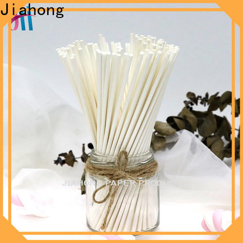 Jiahong widely used lolly pop sticks for wholesale for lollipop