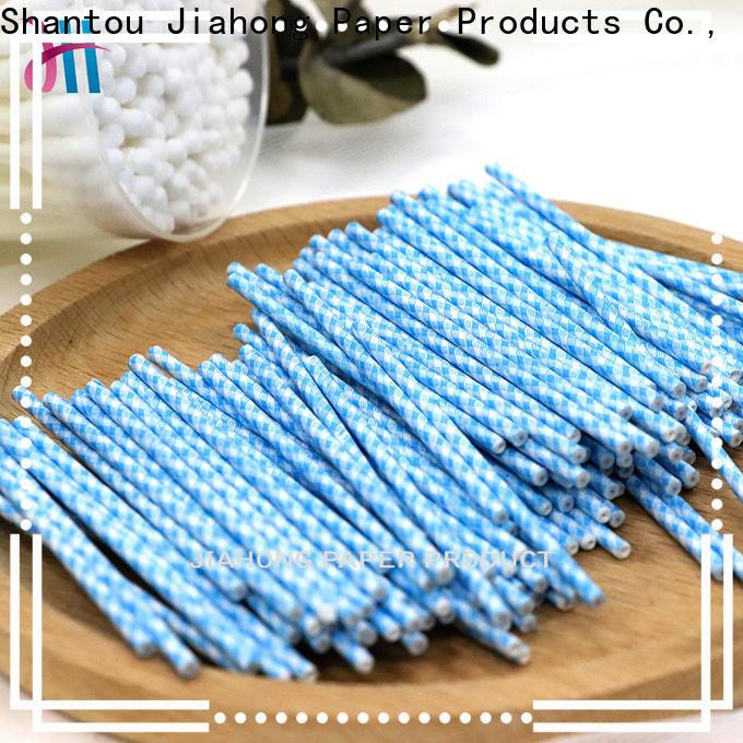 Jiahong professional cotton swab paper stick manufacturer for medical cotton swabs