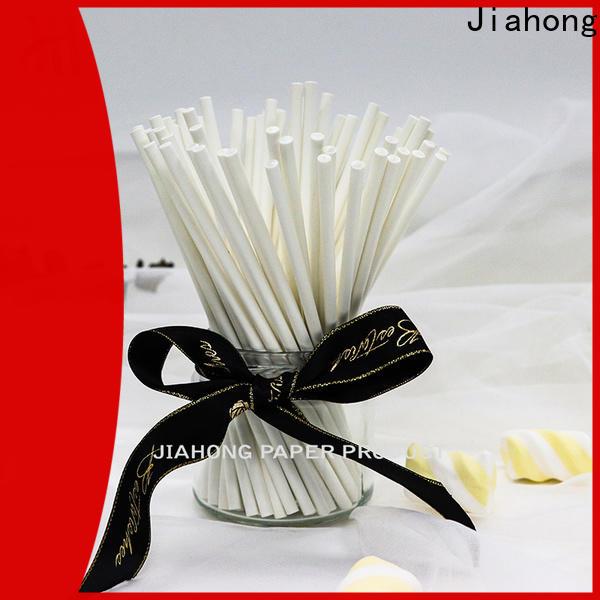 Jiahong diy white lollipop sticks factory price for lollipop
