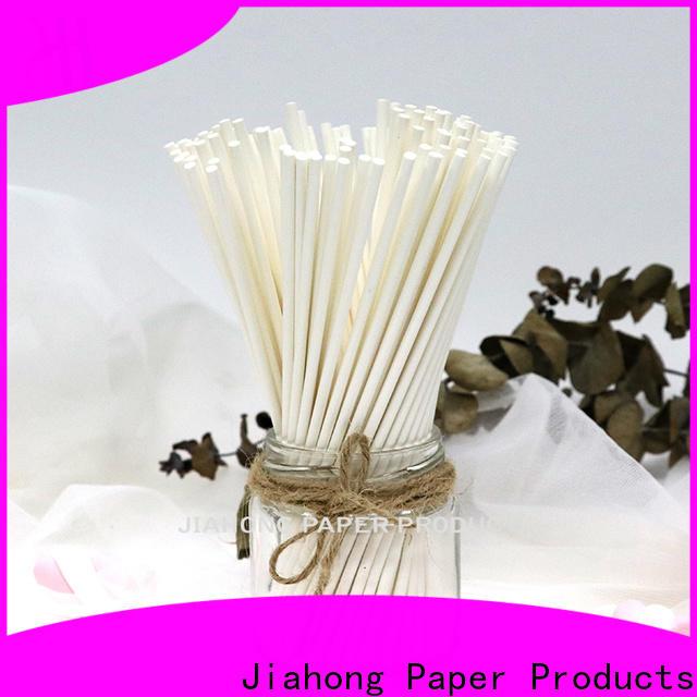 Jiahong fashion design lollipop paper stick markting for lollipop