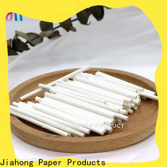 Jiahong durable hand fan sticks from manufacturer for lollipops