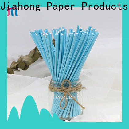 Jiahong widely used lolly pop sticks overseas market for lollipop