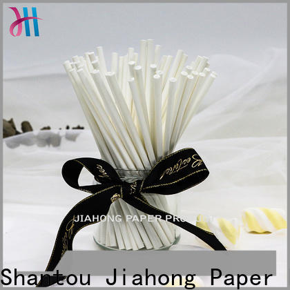 Jiahong certificated paper lolly sticks for wholesale for lollipop