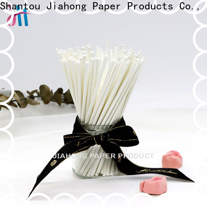 Jiahong fashion reusable coffee stirrers bulk production for packed coffee