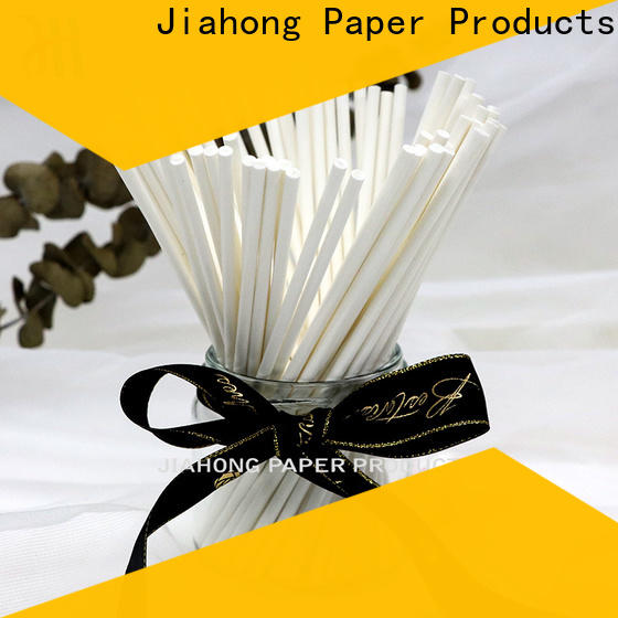 Jiahong safe fsc certified paper sticks certification for marshmallows