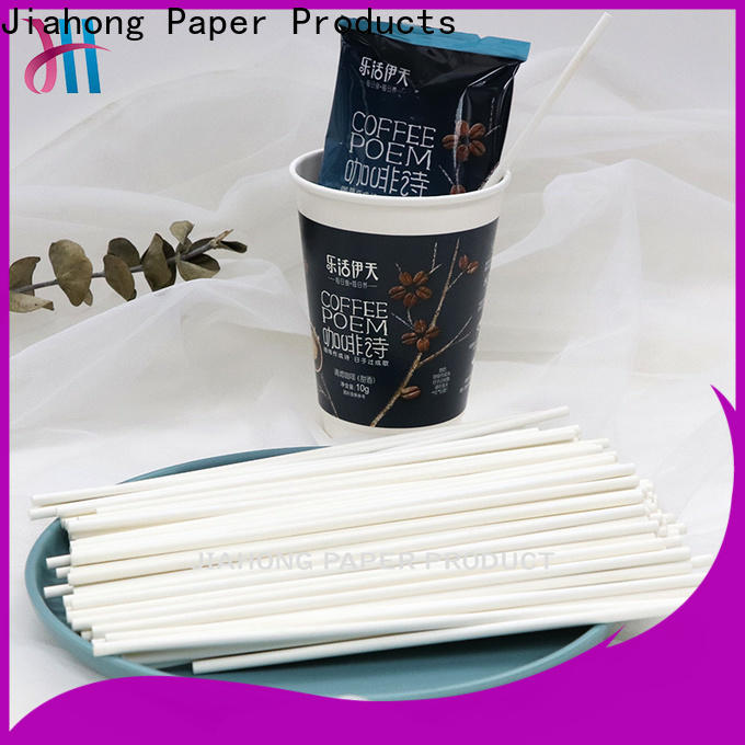 Jiahong fashion coffee stirring stick factory price for packed coffee