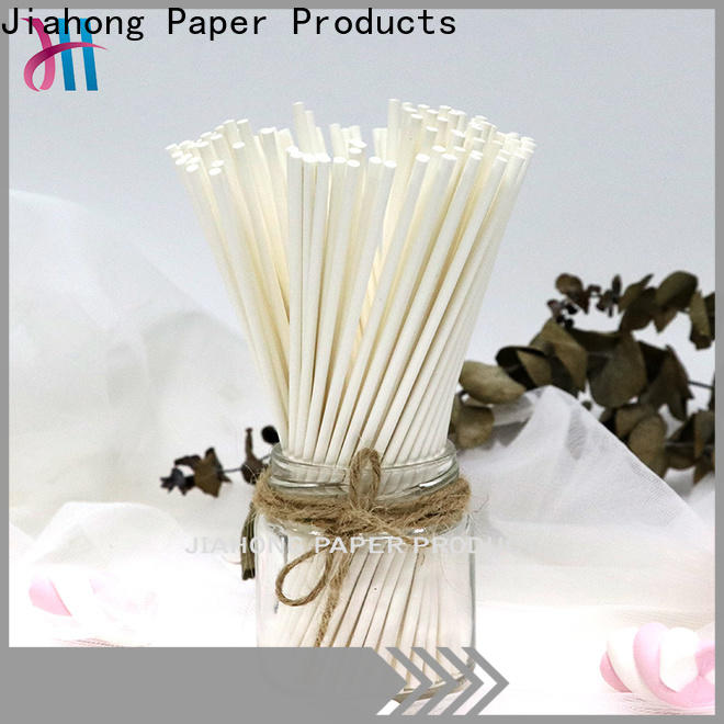 Jiahong widely used custom lollipop sticks factory price for lollipop