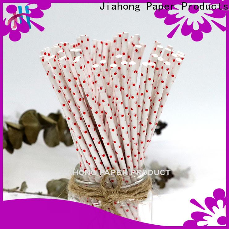 Jiahong fashion design lollipop sticks for lollipop