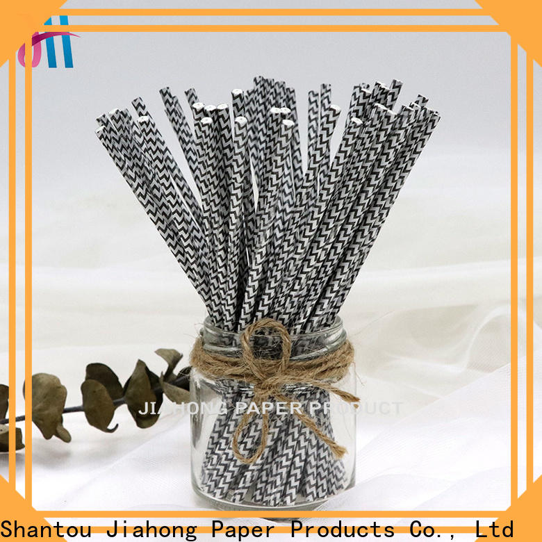 Jiahong high quality sucker sticks bulk production for cake