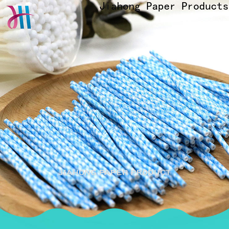 Jiahong customized cotton swab paper stick supplier for hospital