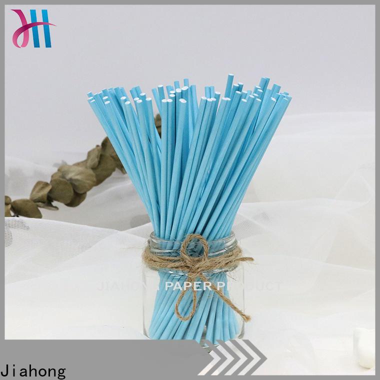 Jiahong new-arrival long lollipop sticks factory price for lollipop