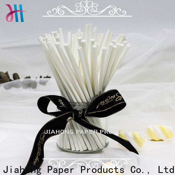 Jiahong environmental paper lolly sticks vendor for lollipop