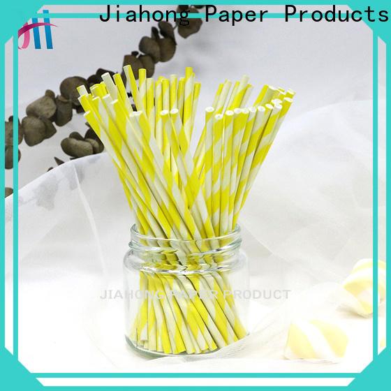 Jiahong fashion design wholesale lollipop sticks markting for lollipop