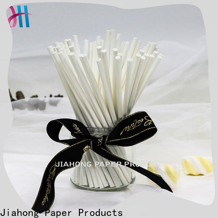 Jiahong long coloured lollipop sticks vendor for lollipop