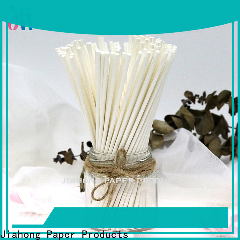 Jiahong professional lollipop sticks in different colors for lollipop