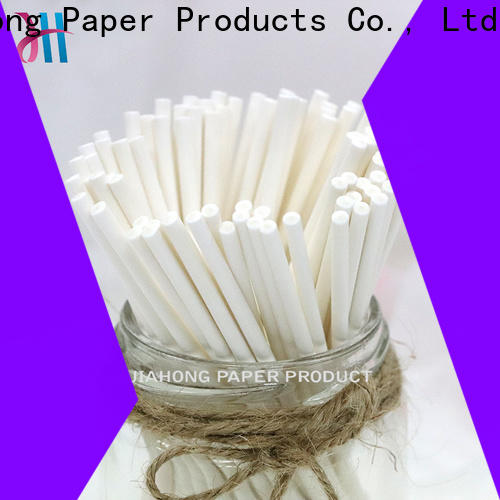 Jiahong competetive price flag paper stick from manufacturer for flag stick