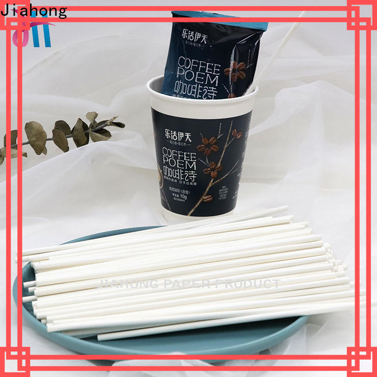 Jiahong stirrers reusable coffee stirrers export for cafe