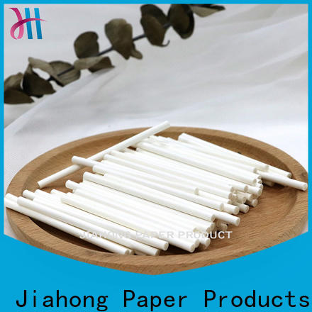 Jiahong professional fsc certified paper sticks factory price for flag flagpoles