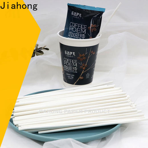 Jiahong good packege excellent reusable coffee stirrers from manufacturer for packed coffee
