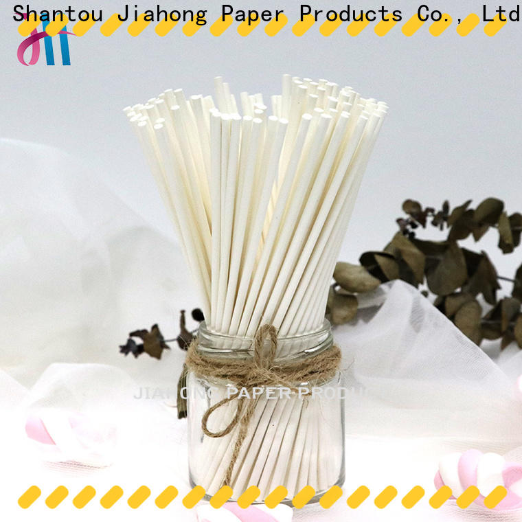 Jiahong hot-sale coloured lollipop sticks for lollipop