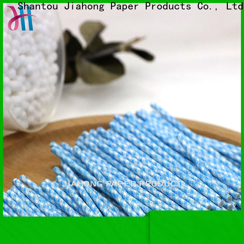 Jiahong inexpensive cotton swab paper stick supplier for hospital