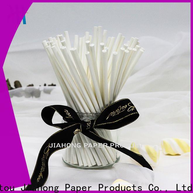 Jiahong fashion design colored lollipop sticks factory price for lollipop