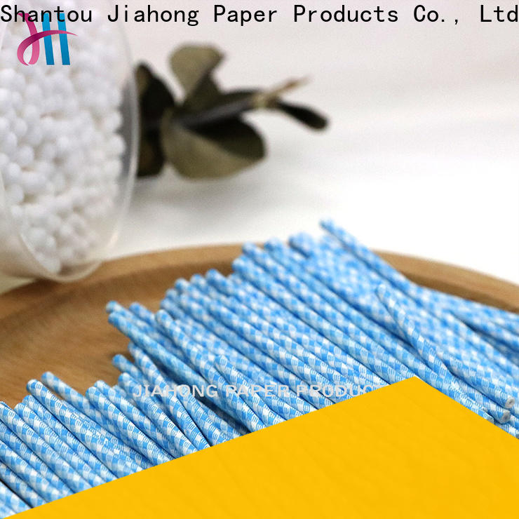 Jiahong clean cotton bud sticks marketing for medical