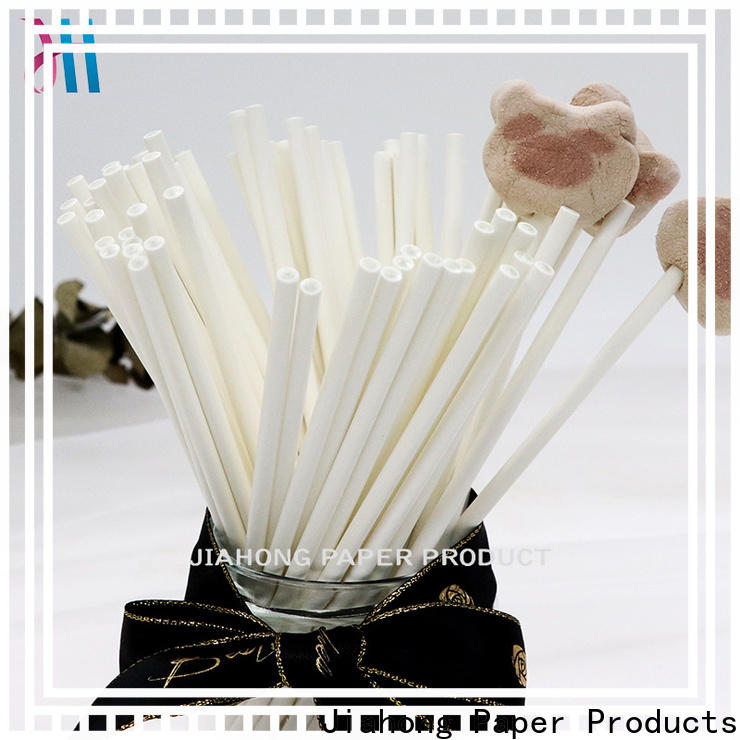 Jiahong grade lolly pop sticks factory price for lollipop