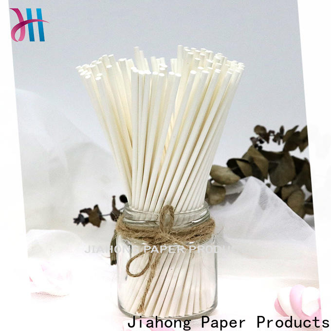 Jiahong paper lollipop paper stick for lollipop
