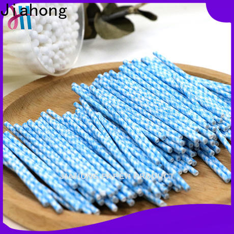 Jiahong high-quality cotton swab paper stick producer for medical