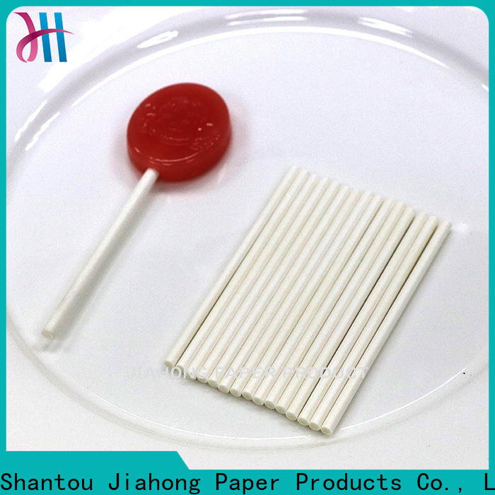 Jiahong popular paper lolly sticks markting for lollipop