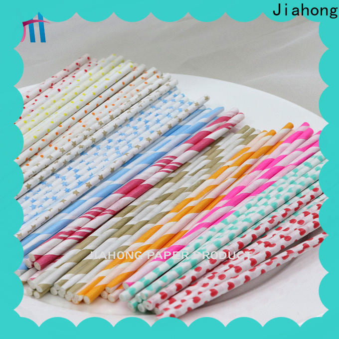 Jiahong fashion design white lollipop sticks grab now for lollipop