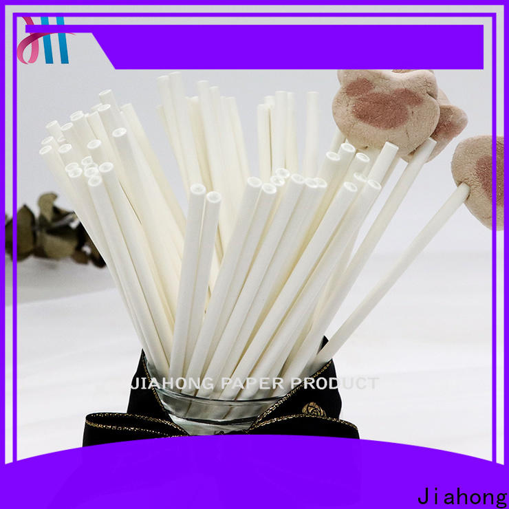 Jiahong eco friendly paper lolly sticks grab now for lollipop