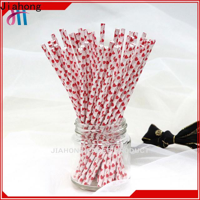 Jiahong baking paper stick bulk production for lollipop