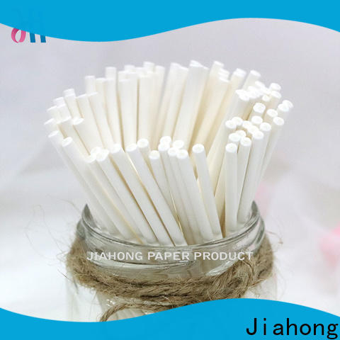 Jiahong high reputation flag paper stick certification for flag stick