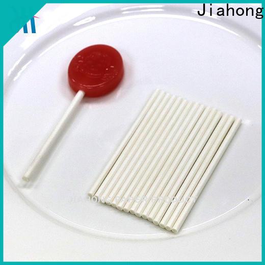 Jiahong stick large lollipop sticks factory price for lollipop